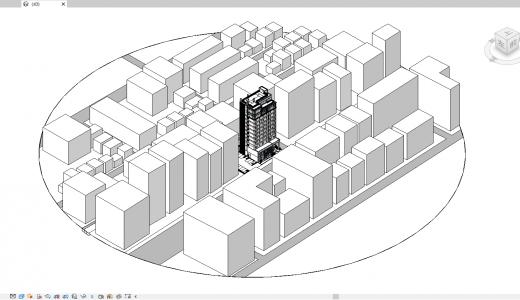 04.周辺建物モデルの作成