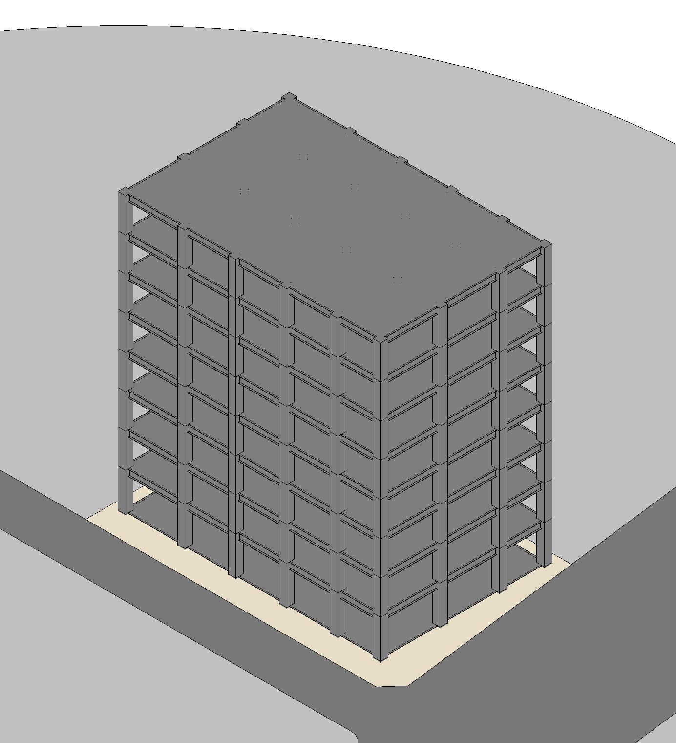 【iD200】①簡易構造モデル作成